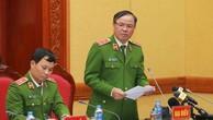 Trung tướng Trần Văn Vệ, Chánh Văn phòng Cơ quan Cảnh sát điều tra – Bộ Công an trả lời các phóng viên