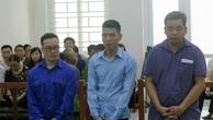 Từ trái sang: Thân Thái Phong, Lê Thanh Tùng và Nguyễn Tuấn Sơn.