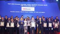 HDBank lọt Top 5 Ngân hàng có tốc độ tăng trưởng nhanh nhất năm 2019