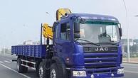 Ngày 9/5/2019, đấu giá Xe tải có cần cẩu JAC tại TPHCM