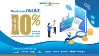 """Hoàn tiền 10% khi """"Thanh toán online, nhận ngay ưu đãi"""" cùng Bảo hiểm Bảo Việt"""