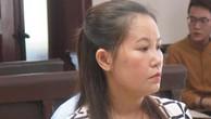 Bà Giang tại phiên tòa phúc thẩm.