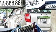 Bộ Tài chính: Nghiên cứu kỹ lưỡng trước khi áp dụng việc đấu giá biển số xe