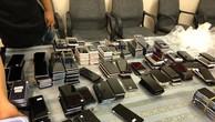 418 chiếc điện thoại mà cơ quan chức năng thu giữ