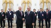 Thủ tướng Nguyễn Xuân Phúc và Tổng thống Liên bang Nga V.V. Putin - Ảnh: VGP