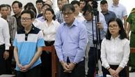 Các bị cáo tại phiên xử ngày 6/5.