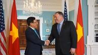 Phó Thủ tướng Phạm Bình Minh và Ngoại trưởng Hoa Kỳ Mike Pompeo