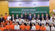 Ban lãnh đạo HABECO, FPT IS và SAP Việt Nam cùng cam kết triển khai dự án thành công, hiệu quả và đúng tiến độ
