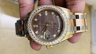 Chiếc đồng hồ Rolex được cảnh sát thu hồi. Ảnh: Công an cung cấp.