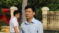 Bị cáo Hoàng Công Lương đến tòa sáng ngày 19/6.
