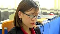 Nguyễn Huỳnh Tú Trinh làm việc với Công an thị xã Phú Mỹ.