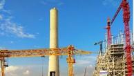 Một góc dự án nhiệt điện BOT Hải Dương tại xã Phúc Thành (Kinh Môn, Hải Dương) .