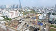 Dự án Laimani City bị cơ quan chức năng yêu cầu tạm dừng thi công - Ảnh: P.D