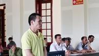 Bị cáo Phan Đình Chính tại phiên tòa.