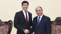 Thủ tướng Nguyễn Xuân Phúc tiếp Giám đốc điều hành WEF Philipp Rosler