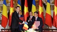 Truyền tải Điện Việt Nam và Rumani ký kết hợp tác