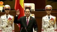Chủ tịch nước Trần Đại Quang: 'Nỗ lực hết sức mình phụng sự Tổ quốc'