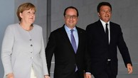 Italy, Đức, Pháp nhóm họp thảo luận về tương lai EU hậu Brexit
