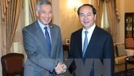 Tuyên bố báo chí Việt Nam-Singapore về chuyến thăm của Chủ tịch nước