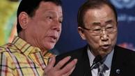 Duterte nói không xúc phạm Obama, nhưng vẫn lăng mạ Ban Ki-moon