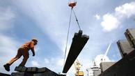 Nhập khẩu sắt thép vượt 10,4 tỷ USD