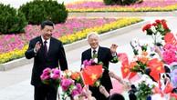Thúc đẩy quan hệ đối tác chiến lược với Trung Quốc