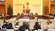 Ủy ban Thường vụ Quốc hội cho ý kiến nhiều vấn đề lớn