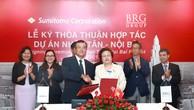 BRG và Sumitomo ký kết thỏa thuận hợp tác phát triển dự án phát triển đô thị Nhật Tân – Nội Bài