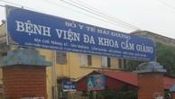 Gói thầu xây lắp tại Bệnh viện huyện Cẩm Giàng (Hải Dương): Thu tiền mặt bảo đảm dự thầu