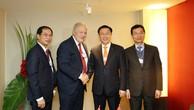 Phó Thủ tướng Vương Đình Huệ tham dự WEF Davos 2018