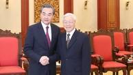Tổng Bí thư tiếp Bộ trưởng Ngoại giao Trung Quốc