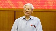 Tổng bí thư được giới thiệu để Quốc hội bầu làm Chủ tịch nước