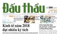 Báo Đấu thầu số 250 ra ngày 28/12/2018