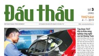 Báo Đấu thầu số 3 ra ngày 4/1/2019