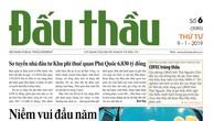 Báo Đấu thầu số 6 ra ngày 9/1/2019