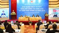Phó Thủ tướng Vương Đình Huệ đánh giá, thành công chung của cả nước có sự đóng góp lớn, có ý nghĩa quyết định của Bộ Kế hoạch và Đầu tư. Ảnh: Lê Tiên