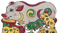 Lý giải bí ẩn vòng tròn âm dương trên thân chú lợn