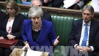 Thủ tướng Anh Theresa May (phía trước) tại phiên họp của Hạ viện ở London ngày 30/1/2019. Ảnh: THX/TTXVN
