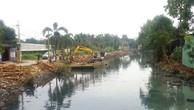 Dự án thoát nước kênh T2 (TP.HCM): Chậm tiến độ vì vướng mặt bằng
