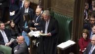 Chủ tịch Hạ viện Anh John Bercow tại một cuộc họp ngày 18/3 - Ảnh: Quốc hội Anh/Bloomberg.