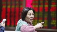 Một nhà đầu tư trên thị trường chứng khoán Trung Quốc.