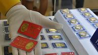 Giao dịch vàng miếng tại doanh nghiệp trong nước. Ảnh:Lệ Chi.