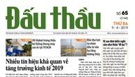 Báo Đấu thầu số 65 ra ngày 9/4/2019