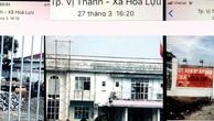 Hình ảnh Nhà thầu Hoàng Phú ghi lại tại công trình Khu hành chính UBND xã Hỏa Lựu (TP. Vị Thanh, tỉnh Hậu Giang) chiều 27/3/2019