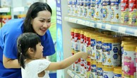 Vinamilk chiếm lĩnh thị trường sữa nước và sữa bột trẻ em nội địa