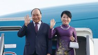 Thủ tướng Chính phủ Nguyễn Xuân Phúc và phu nhân. Ảnh: Hiếu Nguyễn