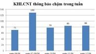 Ngày 12/06: Có 86 thông báo kế hoạch lựa chọn nhà thầu chậm