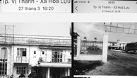 Hình ảnh Nhà thầu Hoàng Phú ghi lại tại công trình Khu hành chính UBND xã Hỏa Lựu (TP. Vị Thanh, tỉnh Hậu Giang) chiều 27/3/2019. (Ảnh nhà thầu cung cấp)