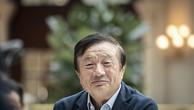 CEO kiêm nhà sáng lập Huawei - Nhậm Chính Phi. Ảnh:AFP