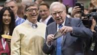 Warren Buffett và người bạn thân lâu năm – tỷ phú Bill Gates. Ảnh Internet